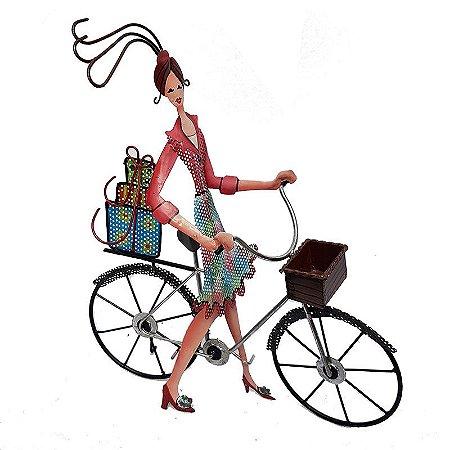 """Porta-Joias """"Bicicleta"""" em Latão"""