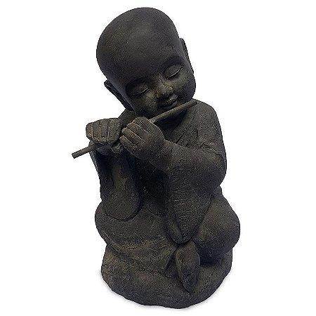 Estátua Buda Flautista
