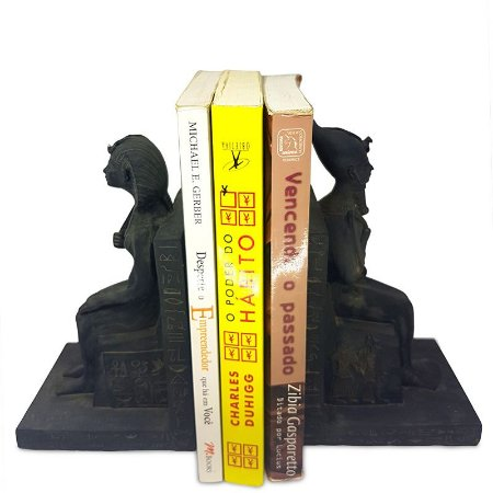 Aparador de Livros Casal Egípcio