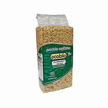 Arroz Misturadinho Orgânico Alto Vácuo Ecobio - 500 g