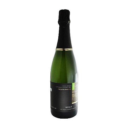 Vinho Espumante Orgânico Branco Brut - Coopeg 750 ml