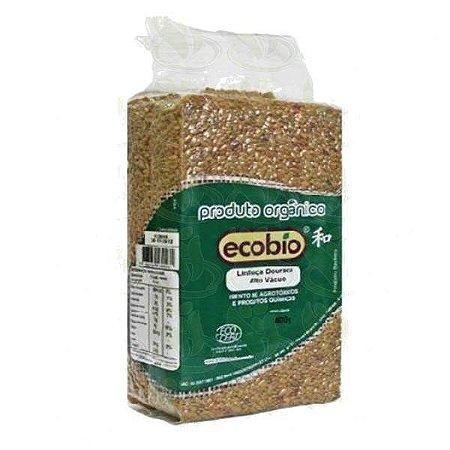 Linhaça Dourada Orgânica Alto Vácuo - Ecobio 400g