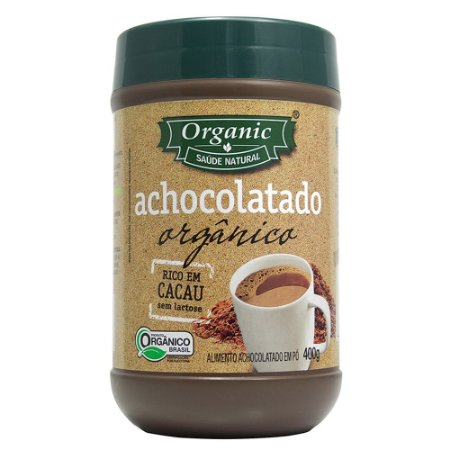 Achocolatado em Pó Orgânico Organic - 400g