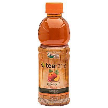 Chá Mate Orgânico Pêssego Organic - 330ml
