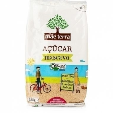 Açúcar Mascavo Orgânico Mãe Terra - 400g