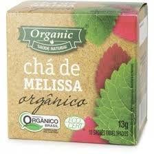 Chá Orgânico Melissa Organic - 10 sachês - 13g