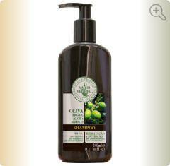 Shampoo de Oliva com Argan (sem sal e sem corantes / CABELOS CRESPOS) Multi Vegetal - 240ml