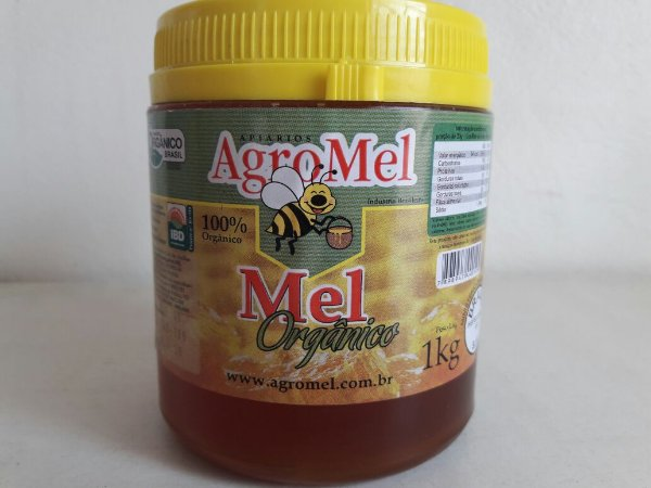 Mel Orgânico Pote Agromel (Florada: Eucalipto) - 1kg