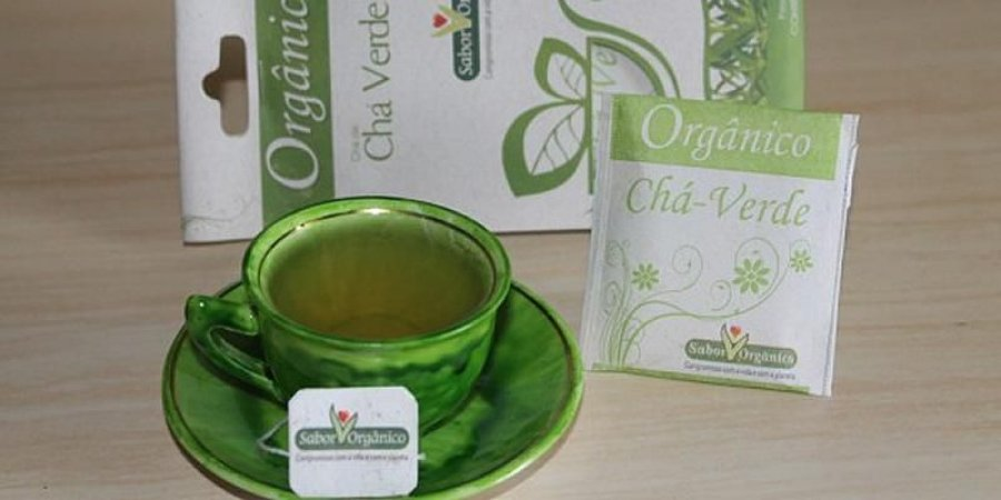 Chá Verde Orgânico - Sabor Orgânico 10 sachês - 13g