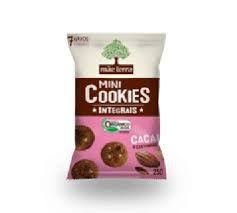 Mini Cookies Integrais Orgânico - Cacau e castanhas Mãe Terra - 25g