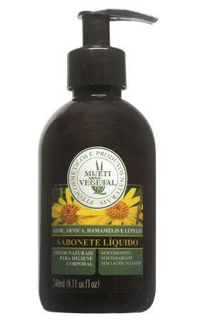 Sabonete Líquido para o corpo Multi Vegetal - 240ml