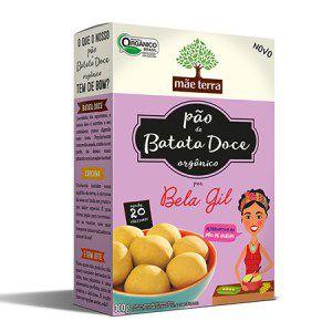 Pão de Batata Doce Orgânico BELA GIL - Mãe Terra - 300g