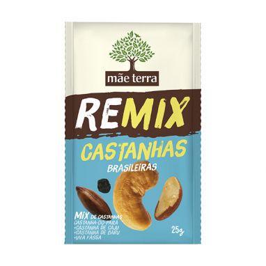 Remix Castanhas Brasileiras Mãe Terra - 25g