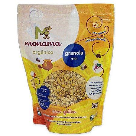 Granola Orgânica com Aveia e Mel - SEM GLÚTEN Monama - 250g