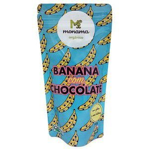 Banana com chocolate Monama - 100g