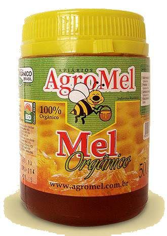 Mel Orgânico Pote Agromel (Florada: Mata Nativa) - 500g