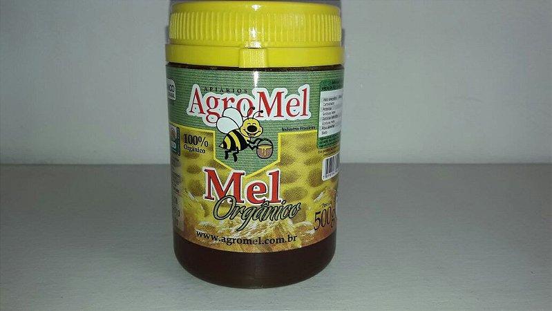 Mel Orgânico Pote Agromel (Florada: Eucalipto) - 500g