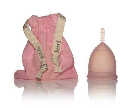 Coletor Menstrual Fluxo NORMAL (Cor: Rosa) - Korui
