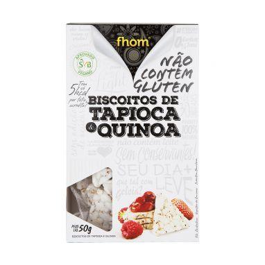 Biscoito de Tapioca com Quinoa - Fhom - 50g
