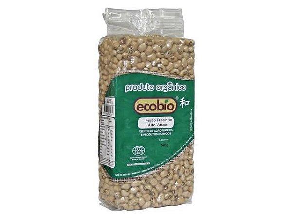 Feijão Fradinho Orgânico Alto Vácuo - Ecobio 500g