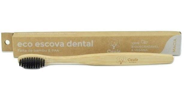 Escova Dental de Bambu -  Caule - 100% Biodegradável