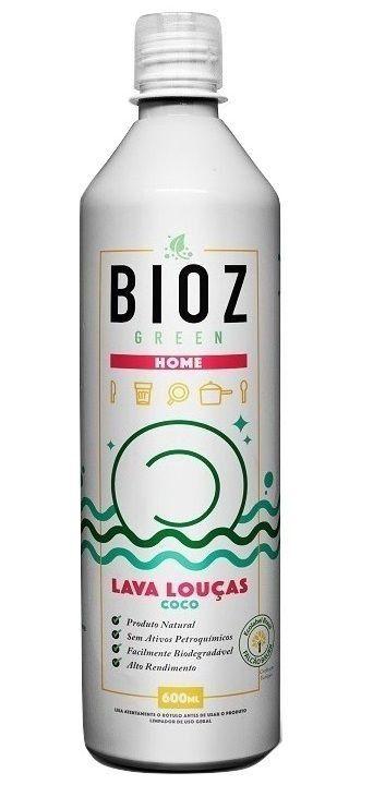 Lava Louças Coco e Vegano - BioZ - 600 ml