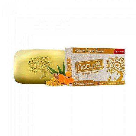 Sabonete Natural Suavetex com Extrato de Cúrcuma - 80g