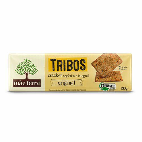 Biscoito Cracker Tribos Orgânico Original - Mãe Terra - 130g