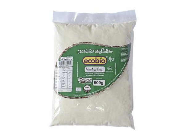 Farinha de Trigo Branca Orgânica Ecobio - 500g