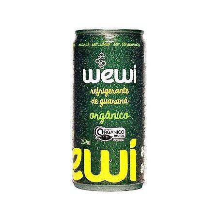 Refrigerante Orgânico de Guaraná - Wewi lata 269ml