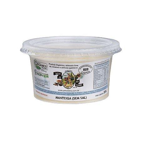 Manteiga Orgânica sem sal - 200 g Sítio Pé na Terra > Entrega somente para Porto Alegre