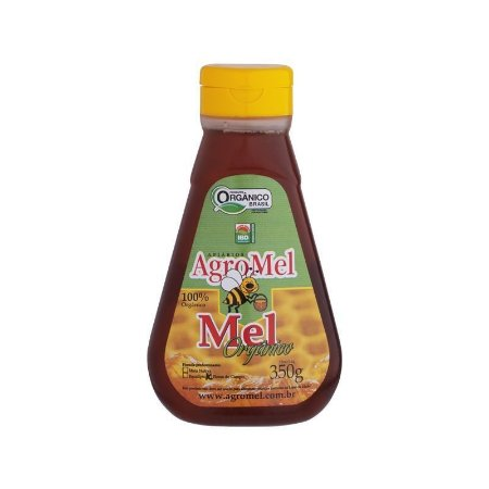 Mel Orgânico Bisnaga - 350g Agromel