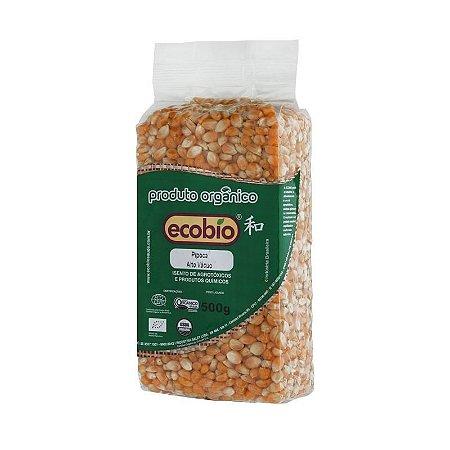 Milho para Pipoca Orgânico Alto Vácuo - Ecobio 500g