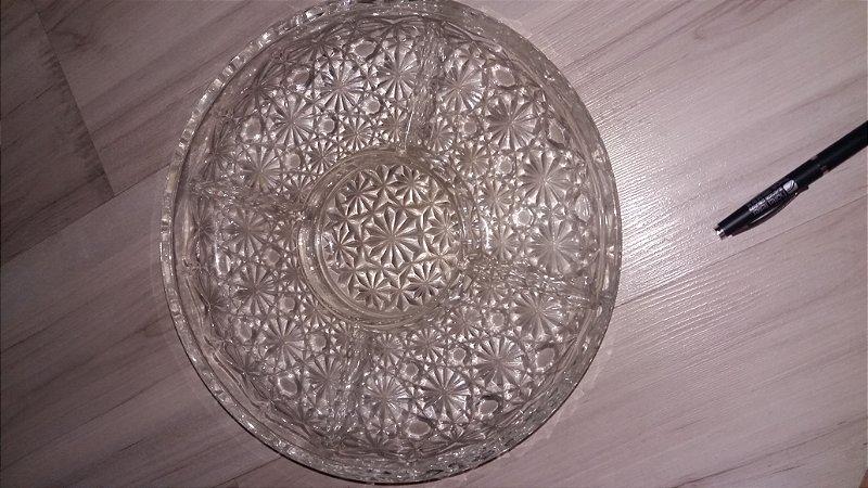 Petisqueira de cristal