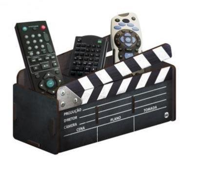 Porta Objetos / Controle Claquete de Cinema
