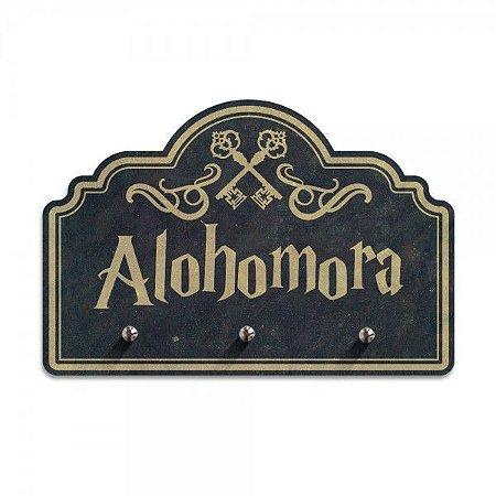 Porta Chave 3 Ganchos Alohomora