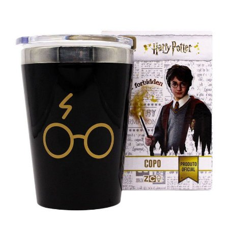 Copo Viagem Snap 300ml Harry Potter