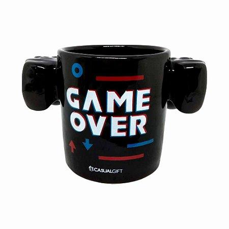 Caneca 3D 350ml Controle Remoto - Game Over