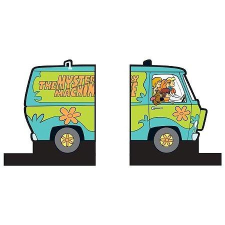 Aparador de Livro em Madeira Scooby Doo