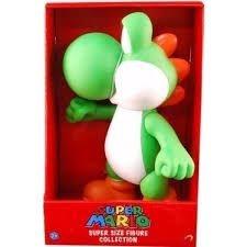 Super Mario Super Size Yoshi. Boneco Vinil 20cm