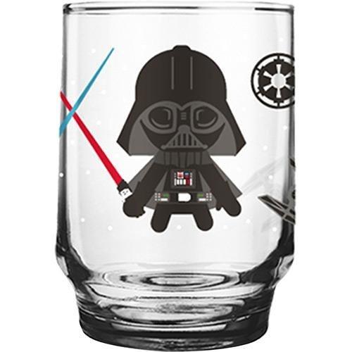Copo Vidro Figurinhas 260ml - Star Wars Kids