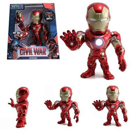 Boneco Metals DieCast Civil War - Homem de Ferro