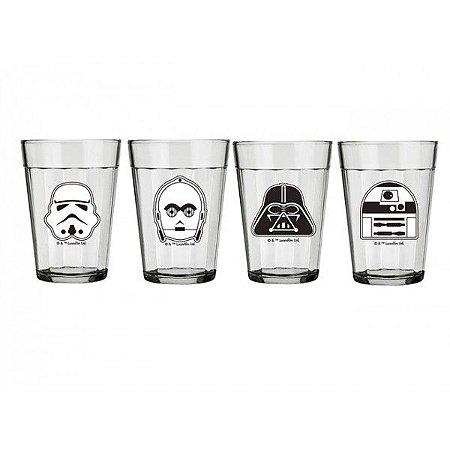 Conjunto Copos Americano Star Wars