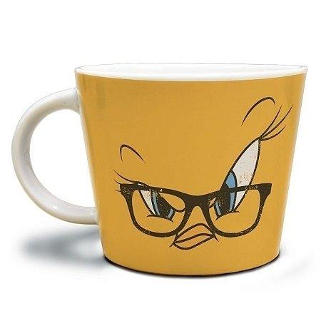 Caneca Porcelana Jumbo Piu Piu - Looney Tunes