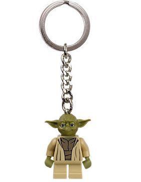 Chaveiro Lego oficial Yoda - Star Wars