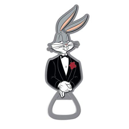Abridor de Garrafas Metal Pernalonga - Looney Tunes
