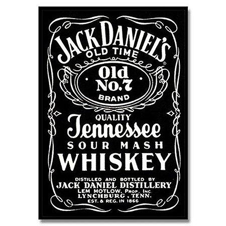 Placa metal Jack Daniels Original Logo