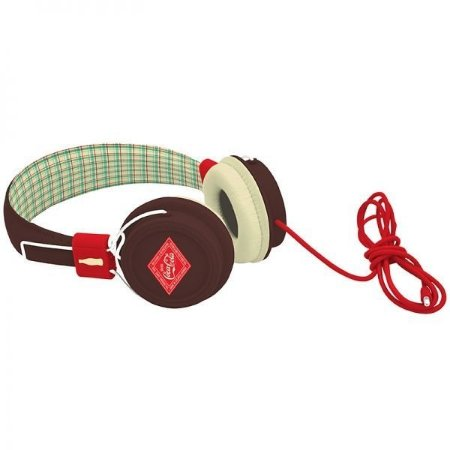 Headphone Coca Cola Marrom