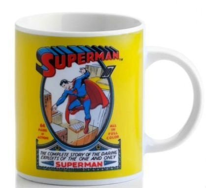 Caneca de porcelana SuperMan DC Comics