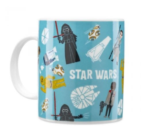 Caneca Porcelana Star Wars Personagens Ilustrados - Rogue One